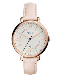 Fossil Jacqueline Rose Goldtone Stainless Steel Pi