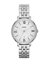 Fossil Stainless Steel Jacqueline Watch SILVER