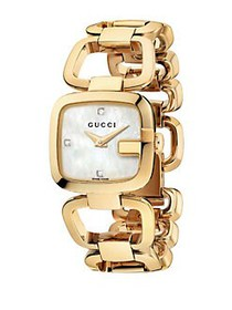 Gucci G-Gucci Collection Goldtone Gold PVD Stainle