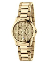 Gucci G-Timeless New Diamante Small Stainless Stee
