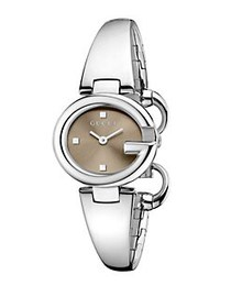 Gucci Guccissima Stainless Steel Bangle Bracelet W
