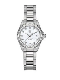 TAG Heuer Ladies Aquaracer Stainless Steel and Dia