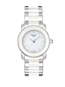 Tissot Cera White Quartz Trend Watch with Diamonds