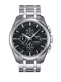 Tissot Stainless Steel Chronograph Watch SILVER