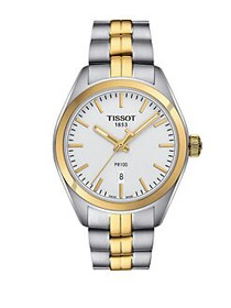Tissot Two-Tone Stainless Steel Watch TWO TONE