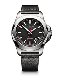 Victorinox Swiss Army INOX Stainless Steel & Leath