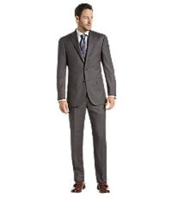 Jos Bank Reserve Collection Slim Fit Sharkskin Sui