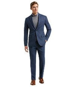 Jos Bank 1905 Collection Slim Fit Birdseye Suit wi