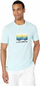 Lacoste Short Sleeve Jersey Graphic T-Shirt