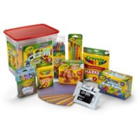 Crayola Colossal Creativity Tub, Art And Craft Sup