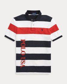Ralph Lauren Classic Fit Striped Terry Polo