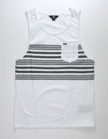 VOLCOM Threezy Mens Pocket Tank Top_