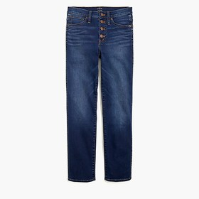 J. Crew Factory Vintage straight jean in stormy in