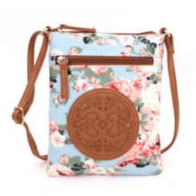 Chateau Embossed Promo Crossbody - Floral