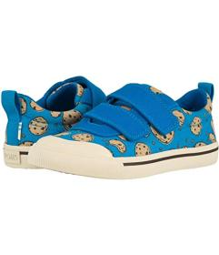 TOMS Blue Cookie Monster Printed Canvas