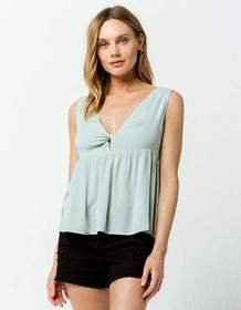 O'NEILL Hayes Womens Babydoll Tank Top_