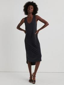 Lucky Brand Ribbed Sandwash Tank Dress