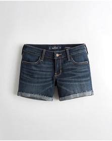 Hollister Advanced Stretch Low-Rise Denim Short 5