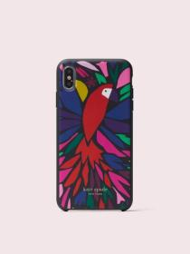 papercut parrot iphone xs max case