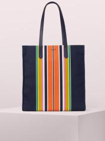 kitt stripe extra large north south tote