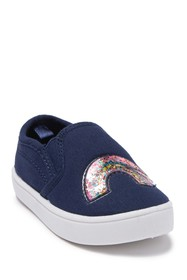 Carter's Glitter Accent Canvas Sneaker (Toddler &