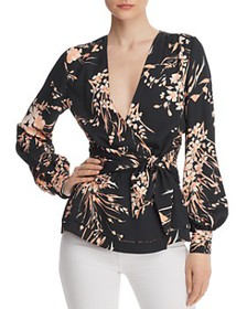 Joie - Arin Floral Wrap Top