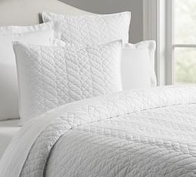 Pottery Barn Brie Quilt & Shams