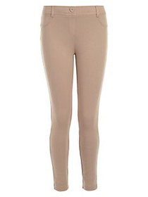 Nautica Little Girl's Stretch Pants KHAKI