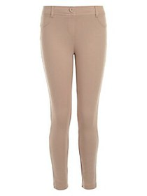 Nautica Girl's Stretch Leggings KHAKI