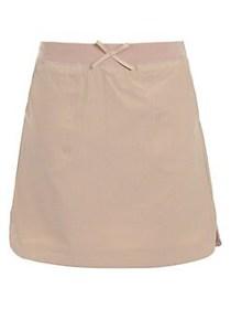 Nautica Girl's Scooter Skirt KHAKI