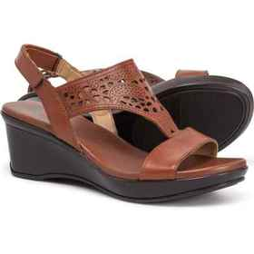 Naturalizer Veda Wedge Sandals - Leather (For Wome