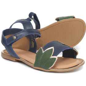 BIBI Miss II Sandals - Leather (For Girls) in Navy