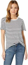 Splendid Zoe Short Sleeve Cotton Modal Slub Stripe