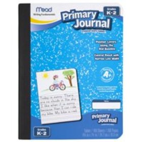 Mead Primary Journal, Half Page Ruled, Grades K-2,