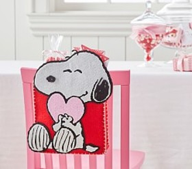 Pottery Barn Snoopy® Heart Chairbacker