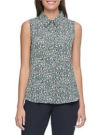 Tommy Hilfiger Floral Sleeveless Top MULTI