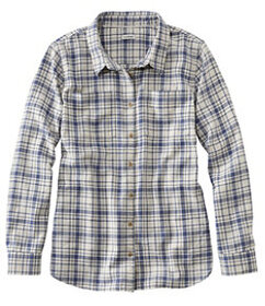 LL Bean L.L.Bean Heritage Washed Twill Shirt, Long