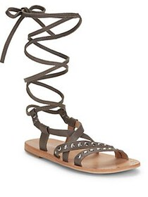 Charles by Charles David Steeler Leather Flat Sand