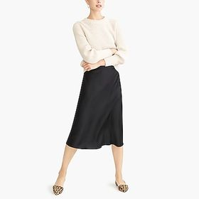 J. Crew Factory factory womens Pull-on bias midi s