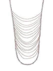 Shoshanna Waterfall Layered Necklace NO COLOR