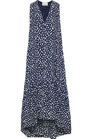 3.1 PHILLIP LIM Pintucked printed washed-silk dres
