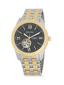 Bulova Two-Tone Stainless Steel Automatic Bracelet
