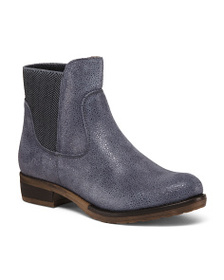 COQUETERRA Made In Portugal Leather Booties
