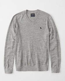 Pima Cotton Icon Sweater, NAVY BLUE