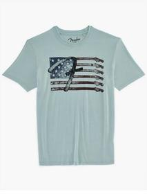 Lucky Brand Fender Star Flag Tee