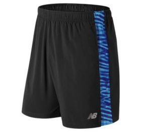 New balance Men's Printed Accelerate 7 Inch Short