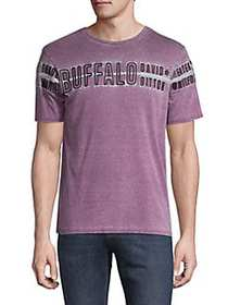 BUFFALO David Bitton Neymar Burnout Wash T-Shirt D