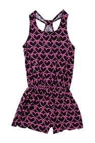 Juicy Couture Heart Print Romper (Little Girls)