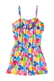 Juicy Couture Printed Romper (Little Girls)