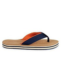 Tommy Bahama Striped Sandals NAVY